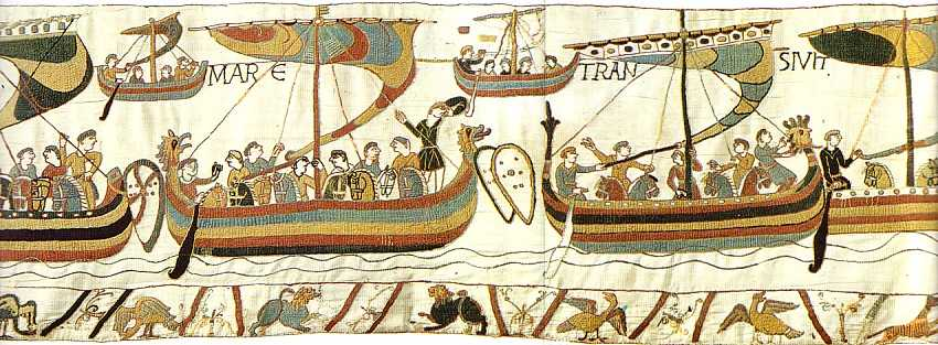 an introduction to the significance of the bayeux tapestry Serve as a guide throughout this introduction to the middle ages 1 explain the significance of the bayeux tapestry and how fabric functions as literature 2.
