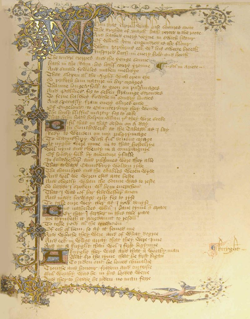 Geoffrey Chaucer: General Introduction